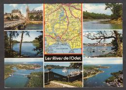 91296/ FRANCE, Les Rives De L'Odet, D'après Michelin N°58 - Carte Geografiche