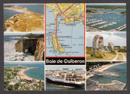 91316/ FRANCE, Baie De Quiberon - Carte Geografiche