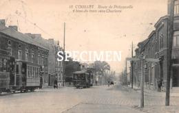 10 Route De Philippeville - 4 Bras Du Tram Vers Charleroi - Couillet - Charleroi