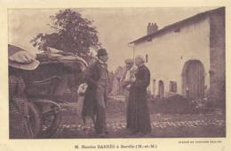 Borville  M.Maurice Barrés En Visite - Vandoeuvre Les Nancy