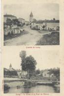 Lorrey     L'Entrée Et La Route Et Lla Route De L'Euron - Vandoeuvre Les Nancy