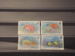 TUVALU - 1988 CORALLI 4  VALORI - NUOVI(++) - Tuvalu