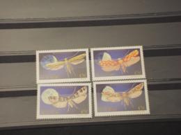 MICRONESIA - 1990 FARFALLE 4  VALORI - NUOVI(++) - Micronésie