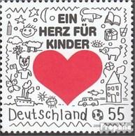 RFA (FR.Allemagne) 2706 (complète.Edition.) Neuf Avec Gomme Originale 2008 Cœur Pour Enfants - [7] República Federal