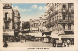 CPA Toulouse Straßenverkehr Carrefour Bayard 1942 - France