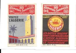 KB630 - ETIQUETTES BOITE D'ALLUMETTES DE SURETE - ALGERIE - Cajas De Cerillas - Etiquetas