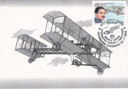 Carte Maximum Aviation Plane Italie 2003 Gianni Caproni - Maximum Cards