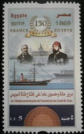 Egypt- 150 Anniv. Of Opening Of Suez Canal - Unused MNH - [2019] (Egypte) (Egitto) (Ägypten) (Egipto) (Egypten) Africa - Égypte
