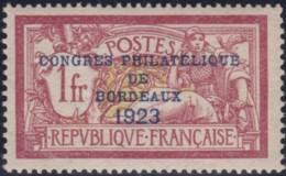 France    .    Yvert     .    182  (2 Scans)   .    *     .       Neuf Avec Charniere   .   /   .   Mint-hinged - France