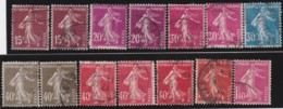 France    .    Yvert     .    188/196     .    O    .    Oblitéré - France