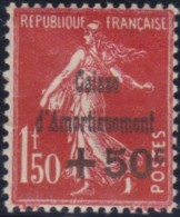 France    .    Yvert     .    277  (2 Scans)     .      *     .    Neuf Avec Charniere   .   /   .   Mint-hinged - Unused Stamps