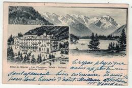 Suisse // Schweiz // Switzerland //  Valais // Champel-Lac, Hôtel Du Glacier - VS Valais