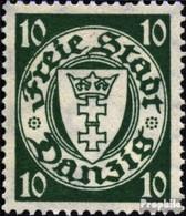 Danzig 194x A Gestempelt 1924 Freimarke - Danzig