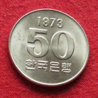 Korea South 50 Won 1973 FAO F.a.o.  #2 - Korea, South