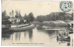 PENICHE - CHALONS SUR MARNE - Canal Latéral à La Marne - Houseboats