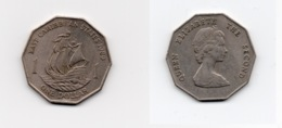 1 Dollar – Caraïbes Orientales – 1989 - Bateau – Elizabeth II – Cuivre Nickel – Etat TTB – KM 20 - Caribe Oriental (Estados Del)