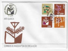Cover FDC - Angola - Arte Quioca - Luanda 1994 - Angola