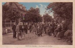 S44-008 Loupiac - Les Joueurs De Quilles - Colorisée - Other Municipalities
