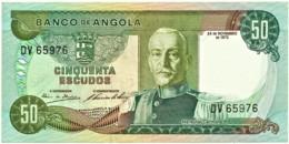 Angola - 50 Escudos - 24.11.1972 - Pick 100 - Série DV - Marechal Carmona - PORTUGAL - Angola