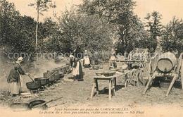 13525732 Cornouaille_Region_Quimper Noce Bretonne Au Pays Le Festin De 1800 Pers - Quimper