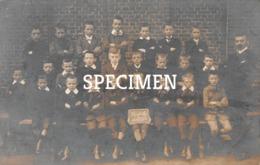 Fotokaart Hoogte Klas Emelgem 1912 - Izegem