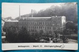 CPA - ALLEMAGNE - Stuttgart Dépot II - Cachet Kommandantur D. Kriegsgef.-Lagers - Souvenir De Captivité - 2 Scans - War 1914-18