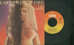 EARTH WIND E FIRE -LET'S GROOVE -DISCO VINILE 45 GIRI - Hard Rock & Metal