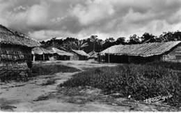 AFRIQUE NOIRE - CONGO Brazzaville -  Village Indigène De POTO-POTO - CPSM Dentelée N/B Format CPA - Black Africa - Brazzaville