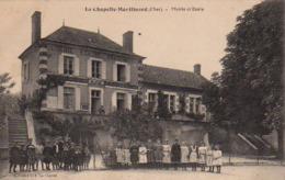 S44-014 La Chapelle-Montlinard - Mairie Et Ecole - France