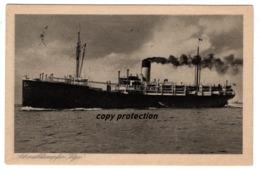Schnelldampfer Vigo, Hamburg Südamerikanische Dampfschiffahrts Gesellschaft, Alte Ansichtskarte 1924, Dampfer, Schiff - Paquebots