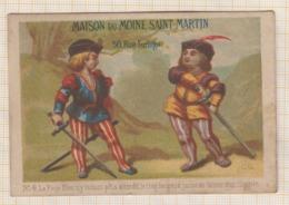 9AL2520  CHROMO MAISON DU MOINE SAINT MARTIN 2 Pages 2 SCANS - Other