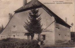 S44-017 La Vèze - Café-Restaurant - Epicerie DARTEVELLE - France