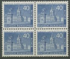 Berlin 1956 Berliner Stadtbilder 149 W 4er-Block Postfrisch - Berlin (West)