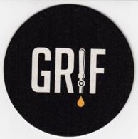 Beer Mats - GRIF Lager, Kap Vjestine, Drop Of The Skill / Croatia / Bier / Coaster, Mat - Sotto-boccale