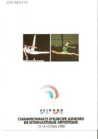 CPM - AVIGNON 1988 - CHAMPIONNATS D'EUROPE JUNIORS DE GYMNASTIQUE ARTISTIQUE - Avignon (Palais & Pont)