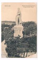 D-9917   HALLE : Bismarckdenkmal Auf Dem Bergschenken-Felsen - Halle (Saale)