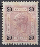 AUSTRIA - 1904 - Yvert 89 Nuovo MH. - Neufs
