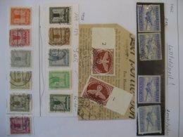Deutschland/ Deutsches Reich- Luftfeldpost Gezähnt Und Durchstochen, Zulassungsmarke, Dienstmarken Partei Mi. 144-154 - Used Stamps