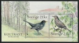 "SUECIA /SWEDEN / SCHWEDEN/ SUÈDE / SWERIGE  -EUROPA 2019- NATIONAL BIRDS.-""AVES- BIRDS -VÖGEL- OISEAUX""- HOJITA BLOQUE - 2019"