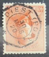 Roi Casqué COB 173 Belle Oblitération Télégraphique Diest ( Post ) - 1915-1920 Albert I