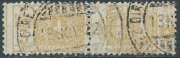 1914-22 REGNO PACCHI POSTALI USATO 3 LIRE - RB14-10 - Paketmarken