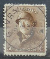 Roi Casqué COB 174 Belle Oblitération Givry - 1919-1920 Roi Casqué