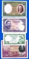 Espagne  8  Billets - [ 2] 1931-1936 : Repubblica