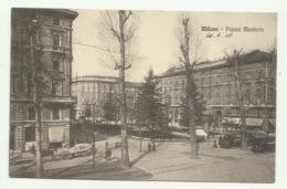 MILANO - PIAZZA MONFORTE 1916 VIAGGIATA FP - Milano