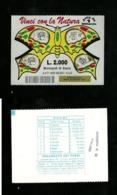 Gratta E Vinci - Vinci Con La Natura Formato Grande - Giallo Lotto 147 - Biglietti Della Lotteria