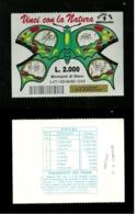 Gratta E Vinci - Vinci Con La Natura Formato Grande - Verde Lotto 147 - Biglietti Della Lotteria