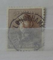 Roi Casqué COB 174 Belle Oblitération Télégraphique Leuze Longchamps - 1919-1920 Roi Casqué