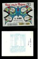 Gratta E Vinci - Vinci Con La Natura Formato Grande - Blu Lotto 147 - Biglietti Della Lotteria