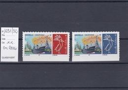 Timbres Personnalisés Adhésifs NOUVELLE CALEDONIE N°1291 Et 1292 Avec Logo Cagou . Rares . Petits Tirages - Nueva Caledonia