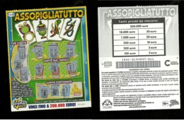 Gratta E Vinci - Assopigliatutto - Lotto 1041 - Serie 011 - Biglietti Della Lotteria